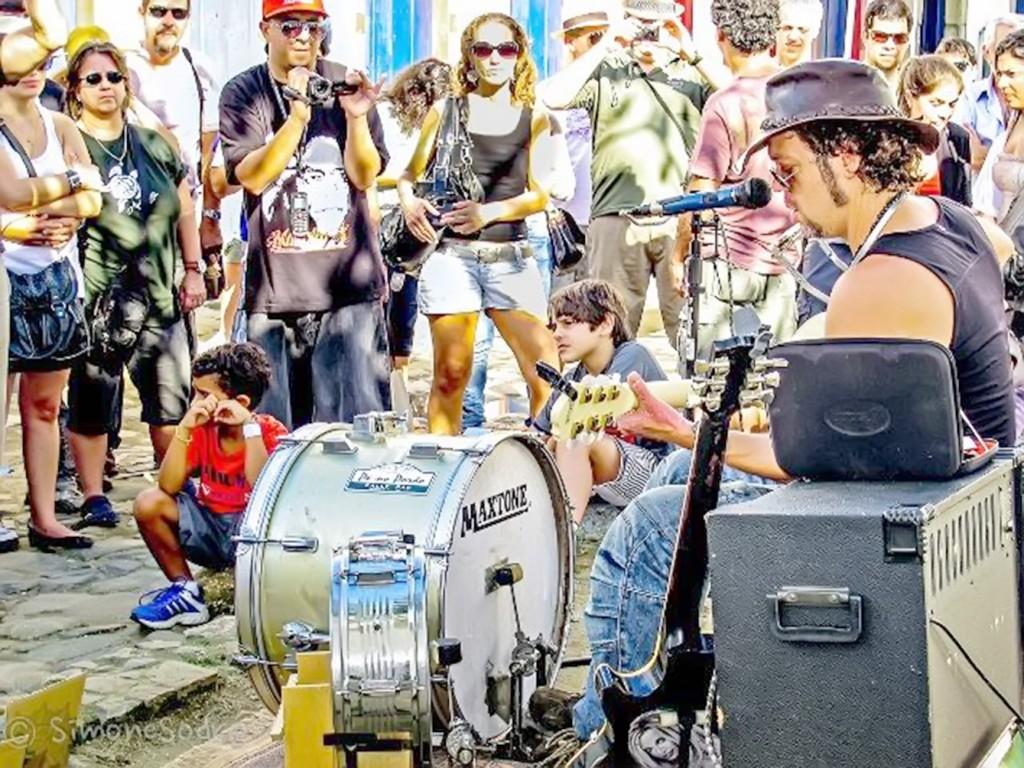 Edição anterior do Festival de Inverno Acordes na Serra, em Cunha; em 2018, cidade espera 100 mil (Foto: Arquivo Atos)