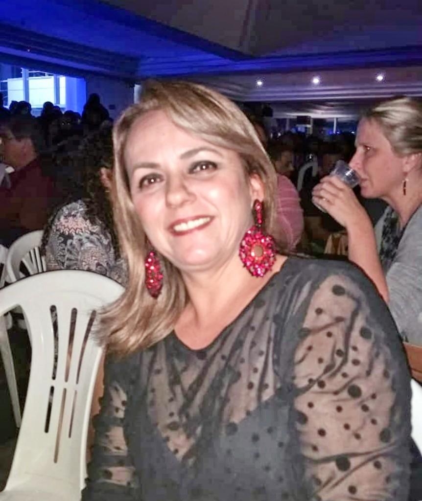A vereadora Edinha do Humberto, que assumiu cargo no Legislativo (Foto: Reprodução)