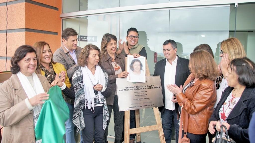 Eventos de inauguração de unidade de saúde no Araretama; Pinda amplia estrutura de atendimento (Foto: Divulgação)
