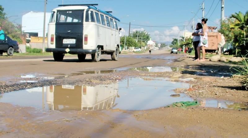 Rua à espera de pavimentação no Jardim do Vale 1; Prefeitura investe R$ 3 milhões na recuperação (Foto: Arquivo Atos)