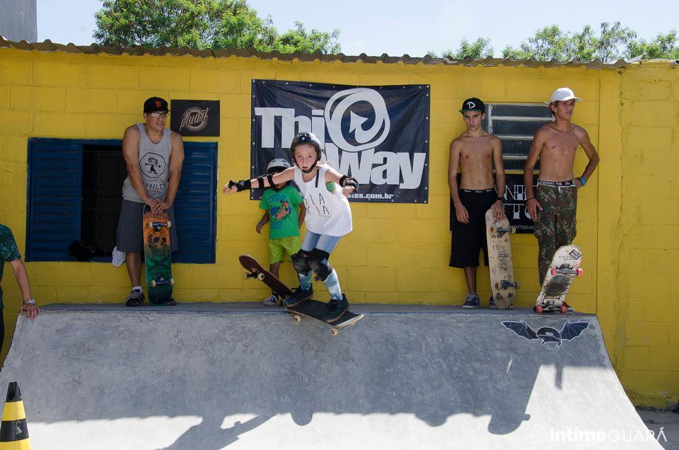 Edição anterior do Intime que reúne skatistas de todas as idades (Foto: Reprodução)