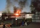 Investigação sobre incêndio em galpão na Maxion começa em Cruzeiro