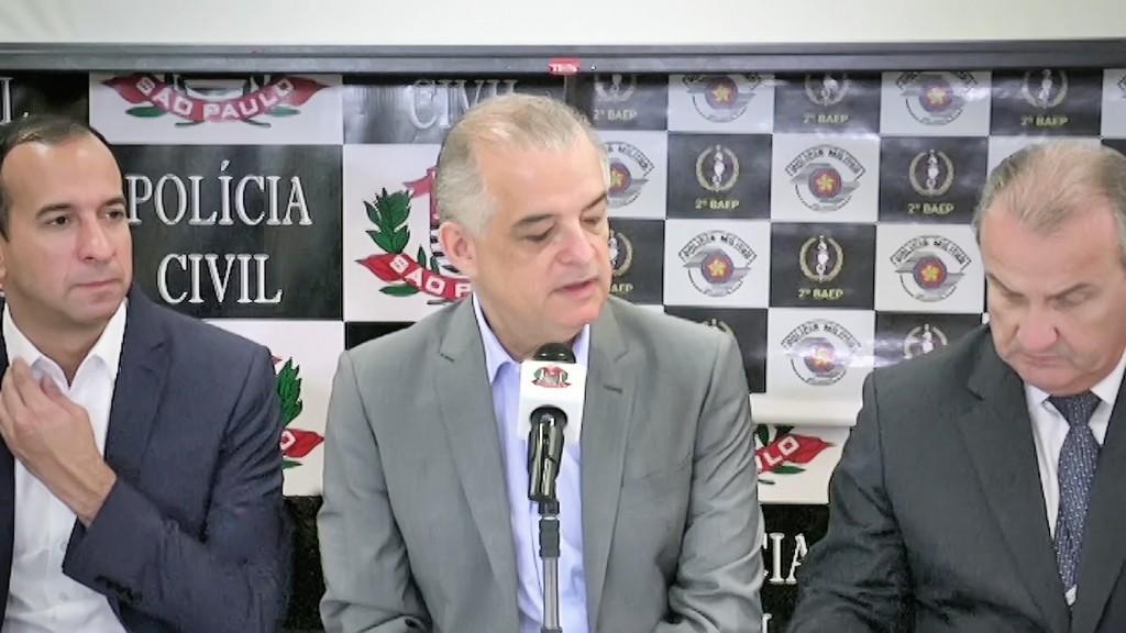 O governador de São Paulo Márcio França, que anunciou programa da Polícia Civil que deve contar com jovens; Potim e Lorena serão atendidas (Foto: Divulgação)