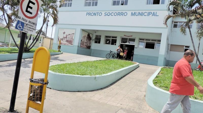 Pronto Socorro de Pindamonhangaba, que teve contrato prorrogado com ABBC (Foto: Arquivo Atos)