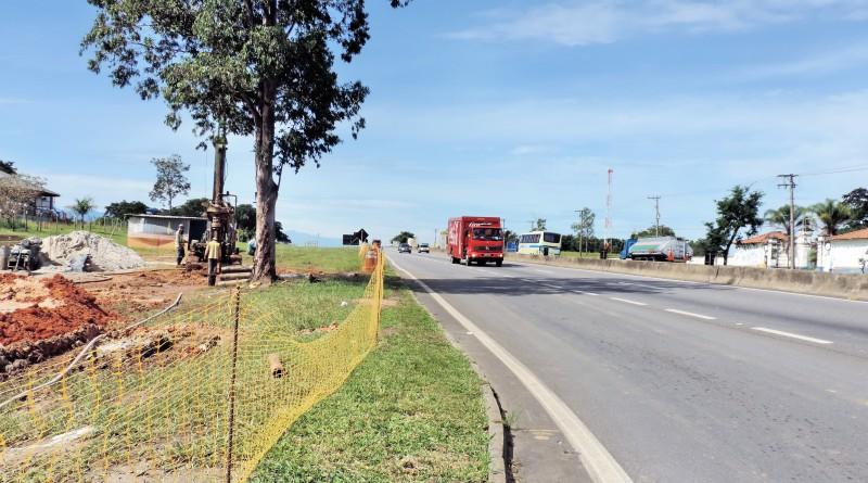 Nova Dutra inicia obras de modernização na entrada de Lorena e em viaduto de Guará