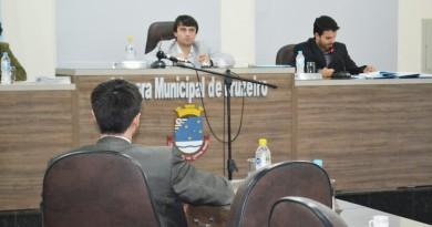 A mesa diretora da Câmara em 2015; ano de apontamentos do Tribunal de Contas (Foto: Arquivo Atos)