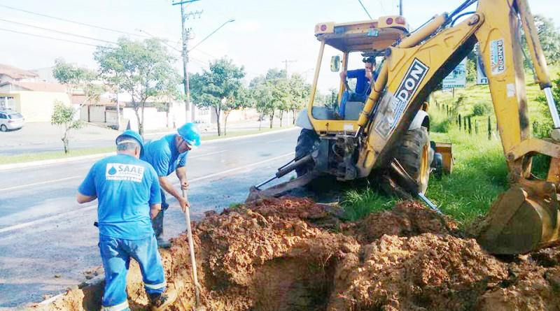 Trabalho de funcionários do Saae de Aparecida; contratações em autarquia foram contestadas pelo Ministério Público, que apontou irregularidades (Foto: Reprodução)