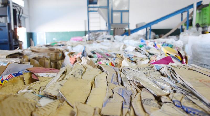 Lixo coletado para a reciclagem em Lorena; governo de Fábio Marcondes fecha acordo com a Eppo para ampliar e qualificar sistema de recuperação de material no município (Foto: Divulgação)
