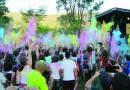 Fazenda Nova Gokula tem três dias de Festival das Cores, em Pinda