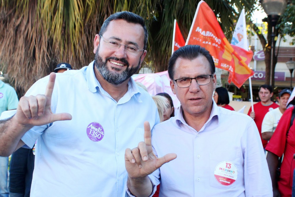 Herivleton e Luiz Marinho
