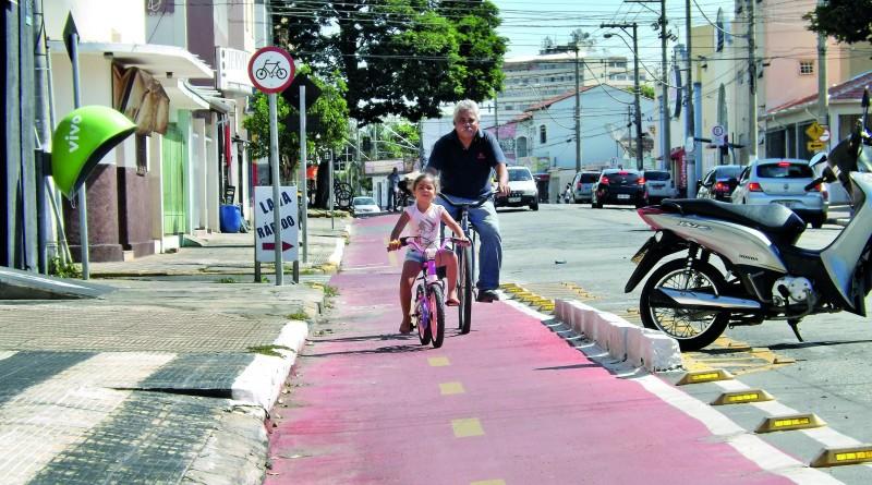 Sistema de ciclovias e ciclofaixas em Lorena tem ampliação projetada para novembro