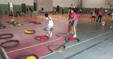 Os moradores do Crispim terão um novo espaço para a ginástica artística (Foto: Reprodução PMP)