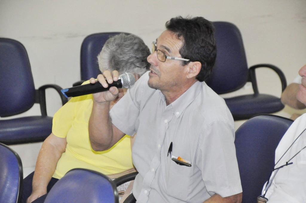 O vereador Dudu Reis, que voltou a à Câmara de Aparecida após ser afastado por decreto do presidente (Foto: Reprodução CMA)