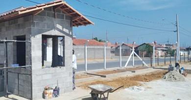 O PEV de Moreira César, que deve receber volumes acima de 1m³ de material descartável no distrito de Pinda (Foto: Divulgação PMP)