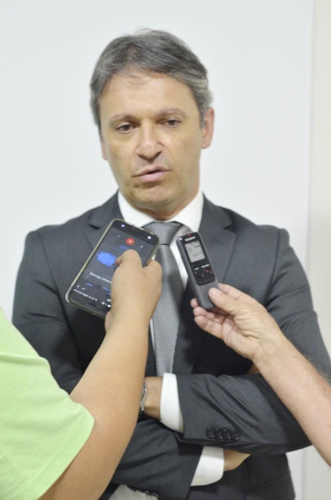O promotor de Justiça Ricardo Reis Simili, responsável pela investigação em contrato entre Prefeitura e Iguá (Foto: Leandro Oliveira)