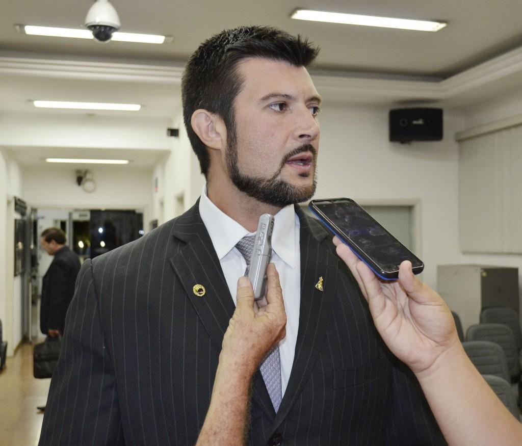 Celão, presidente da Câmara de Guará, que segue no cargo até 2020 (Foto: Leandro Oliveira)