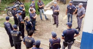 Guardas municipais de Aparecida recebem treinamento para reforçar o trabalho contra o crime na cidade (Foto: Reprodução PMA)