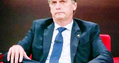 O presidente eleito Jair Bolsonaro, que deve passar por Guaratinguetá para formatura no próximo dia 30 (Foto: Reprodução)