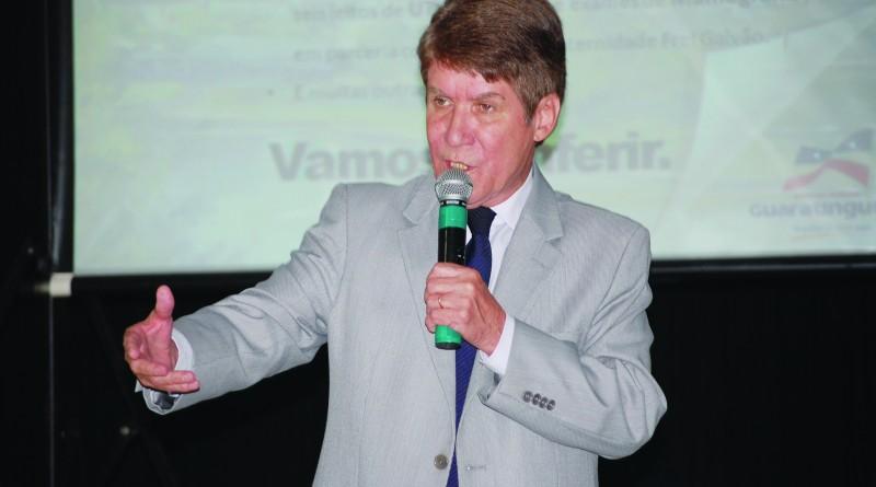 O ex-prefeito de Guaratinguetá, Francisco Carlos, que espera decisão sobre contas rejeitadas de 2013 (Foto: Arquivo Atos)