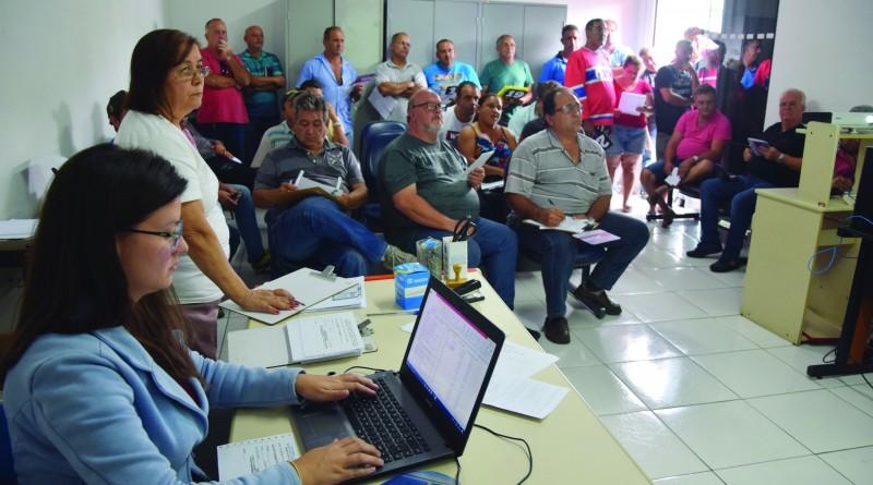 Leilão promovido pela Prefeitura de Lorena, que garantiu verba para investimento na frota municipal (Foto: Arquivo Atos)