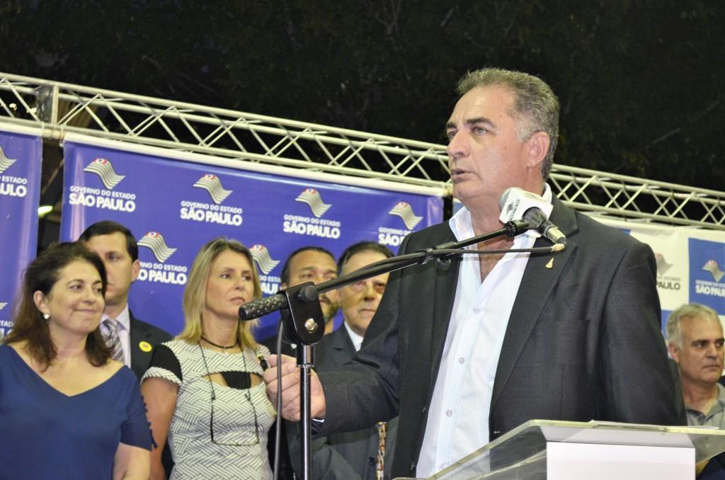 O prefeito de Aparecida, Ernaldo César Marcondes, que teve os bens bloqueados em ação que investiga contratos  (Foto: Arquivo Atos)