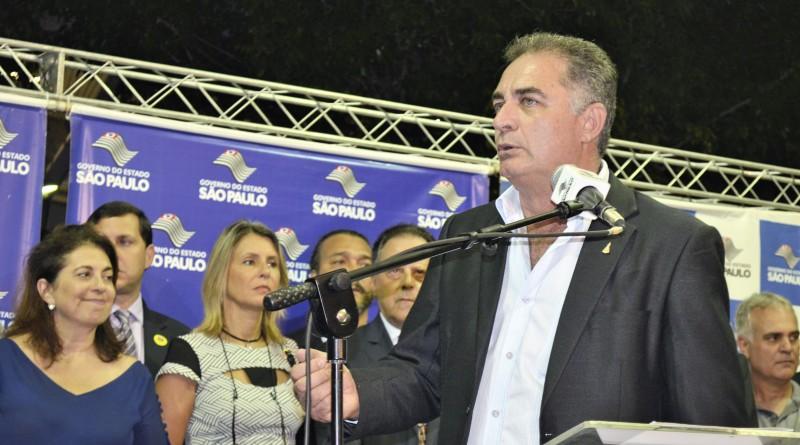 O prefeito de Aparecida, Ernaldo César Marcondes, que teve derrota em decisão judicial sobre empréstimo (Foto: Arquivo Atos)