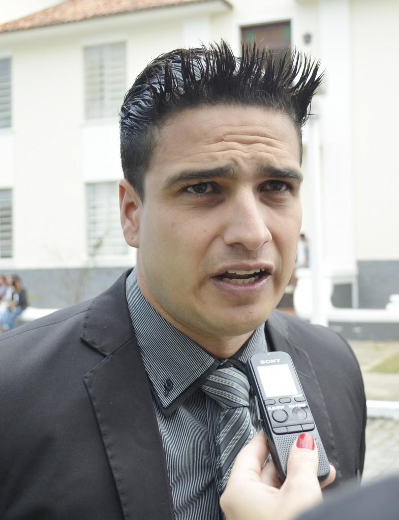 O vereador Rominho Eventos, que responde por infidelidade partidária (Foto: Arquivo Atos)
