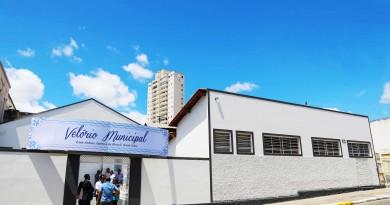 O novo Velório Municipal de Cruzeiro, inaugurado nesta semana; projeto atende pedido antigo de moradores e esquenta cenário político (Foto: Divulgação PMC)