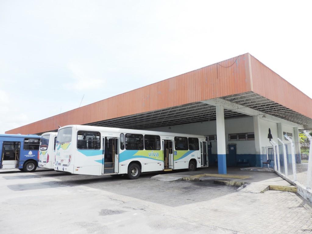 A rodoviária de Pindamonhangaba, na região central; município deve ganhar dois novos terminais em Moreira César e próximo à Via Dutra (Foto: Francisco Assisi)