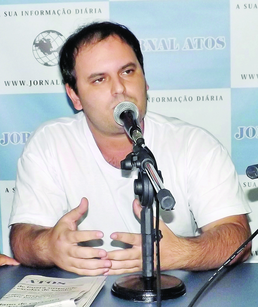 O ex-secretário Guilherme Marcondes, que denunciou o prefeito (Foto: Arquivo Atos)