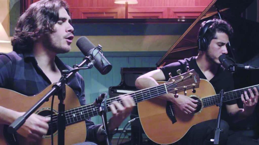 O cantor e ator Gabriel Sater (esq.) se apresenta em Lorena no próximo dia 2; turnê tem dois shows no Vale (Foto: Reprodução)