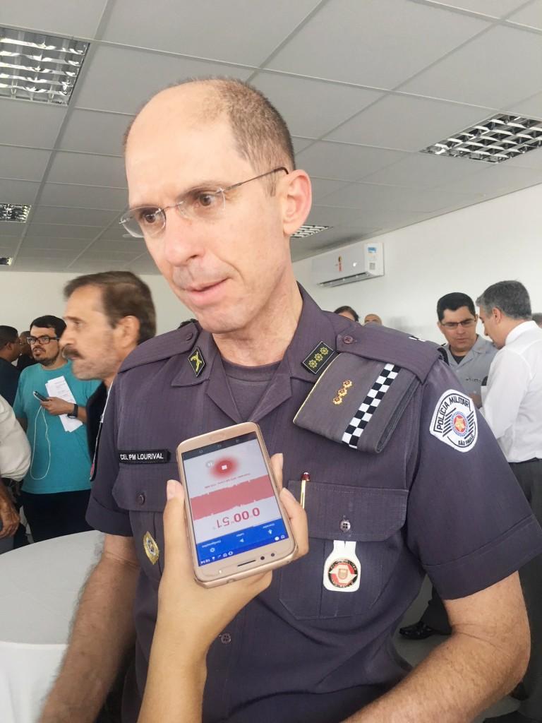 O comandante do CPI-1, coronel Lourival Junior; expectativa para 2019 (Foto: Jéssica Dias)