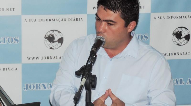 O vereador de Lorena, Maurinho Fradique, que assumiu presidência do Câmara e planeja medidas na Casa (Foto: Rafaela Lourenço)