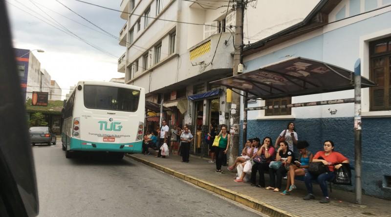 Ônibus do transporte público de Guará; licitação retomada tem expectativa de resultado em fevereiro (Foto: Arquivo Atos)