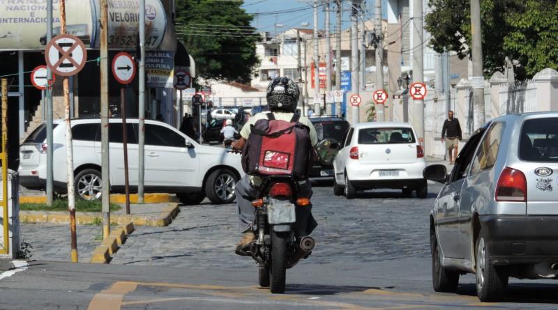 A rua Dom Bosco em Lorena; cidade é destaque em transparência pública (Foto: Arquivo Atos)
