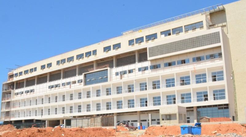 O futuro Hospital Regional, em Caraguatatuba, que atenderá demanda do Litoral Norte e Vale do Paraíba (Foto: Reprodução PMC)