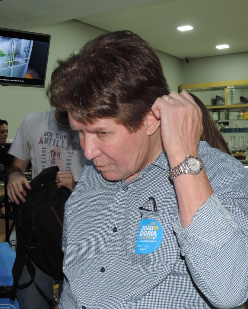 O ex-prefeito de Guará Francisco Carlos, que espera votação de suas contas de 2013 (Foto: Jéssica Dias)