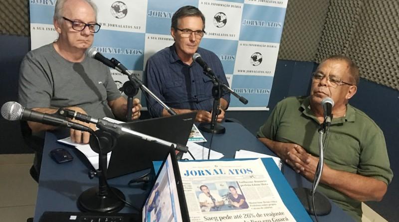 O prefeito Marcus Soliva falou sobre obras, projetos, oposição política e perspectivas para 2019 com Eder Billota e Miltinho no Atos no Rádio pela Máxima FM - Guará