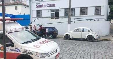 A Santa Casa de Cruzeiro, que segue em recuperação financeira, conta com plano de economia de energia (Foto: Jéssica Dias)