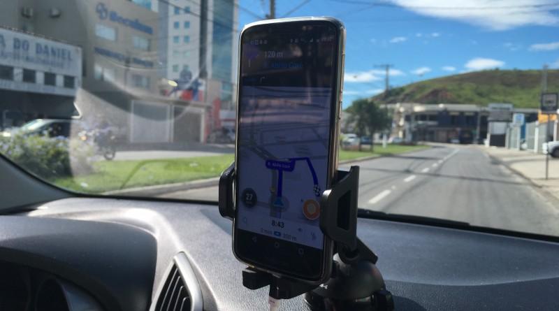 Sistema Uber, é liberado nesta sexta-feira nas ruas de Guará (Foto: Leandro Oliveira)