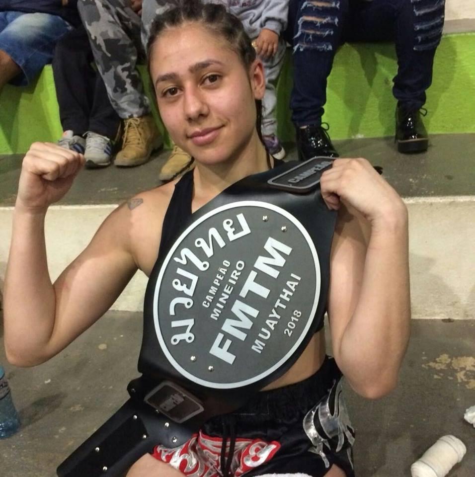 A atleta Ana Carolina (Foto: Reprodução)