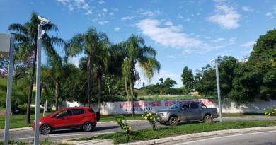 Portais eletrônicos são instalados na entrada da cidade (Foto: Divulgação PMG).