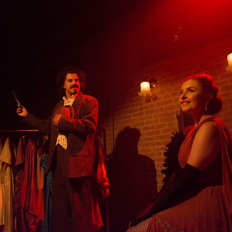 """César Carvalho e Camila Zappa, que fazem parte do elenco de """"A rua da Fortuna"""" que estreia neste sábado (Foto: Reprodução)"""