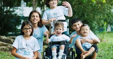 Em busca do seu espaço na sociedade, crianças com deficiência são foco de caminhada em Cruzeiro. (Foto:Divulgação)