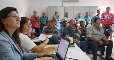 Reunião de licitação em Lorena; novo sistema digital promete agilizar e modernizar processos na cidade (Foto: Divulgação PML)