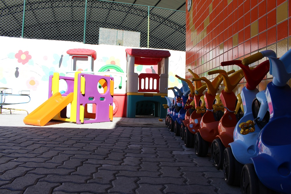 Escola Maria Júlia, que é palco de polêmica de abuso em Guaratinguetá.(Foto: Reprodução PMG)