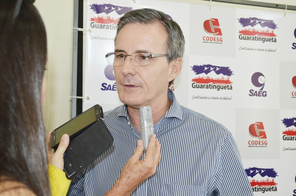Prefeito Marcus Soliva confirma o ano fechado no vermelho na autarquia. (Foto:Rafael Rodrigues)