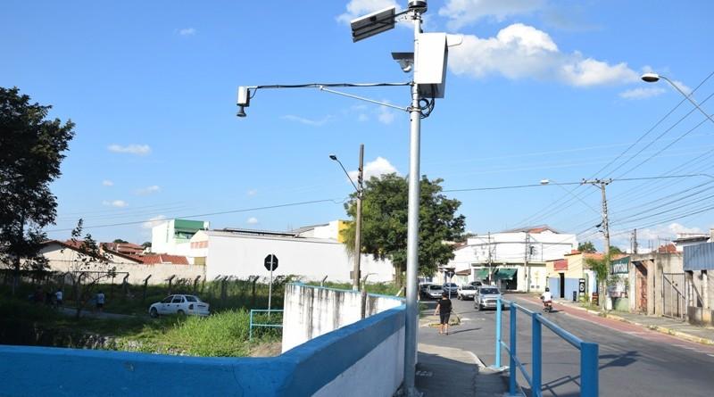 Equipamento reimplantado que vistoria o fluxo pluvial e fluvial na cidade (Foto: Divulgação PML)