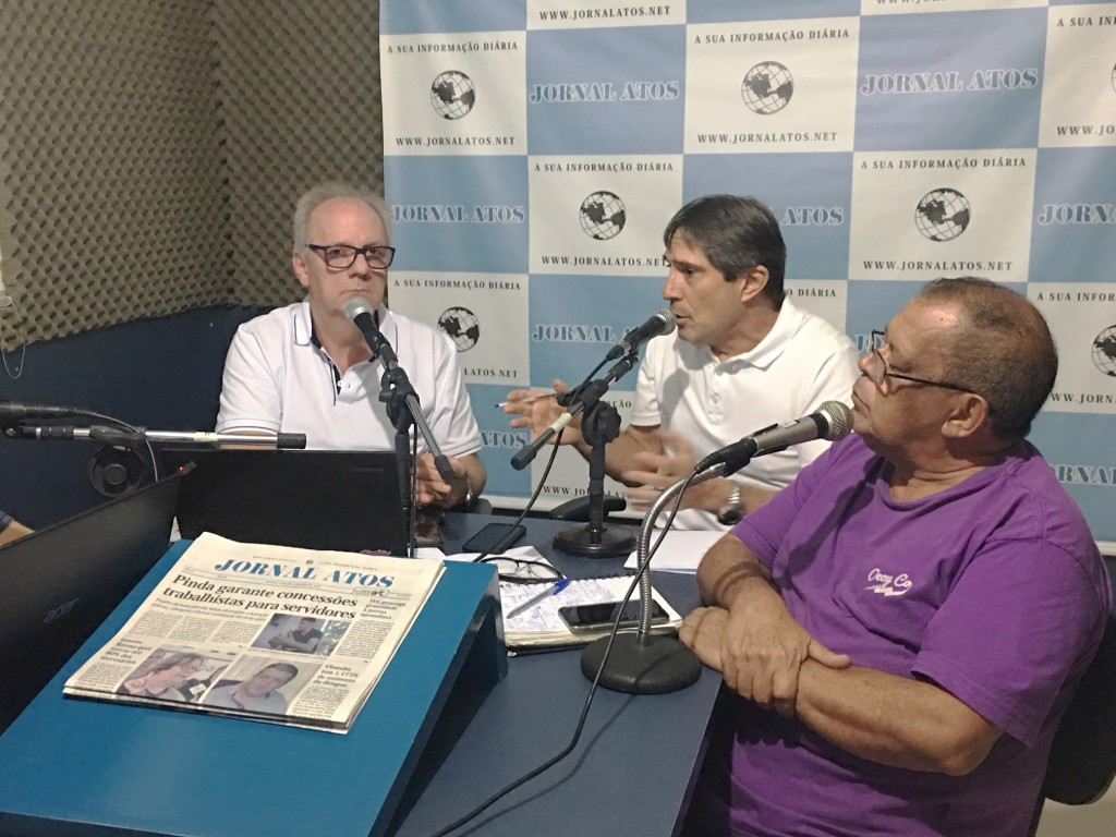 Prefeito Fábio Marcondes fala sobre política no programa Atos no Rádio