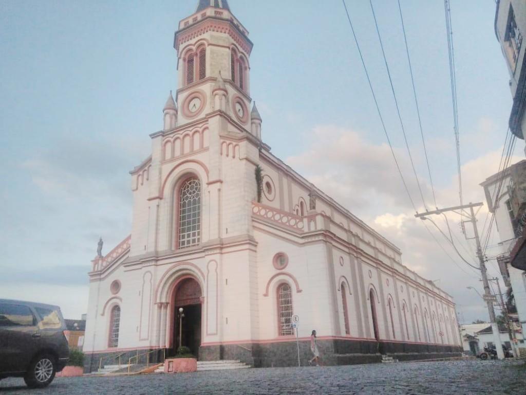 Matriz de Nossa Senhora da Piedade, um dos marcos do turismo religioso de Lorena; aporte de R$ 1 milhão (Foto: Francisco Assis)